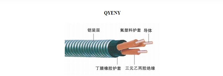 QYENY潜油泵电缆