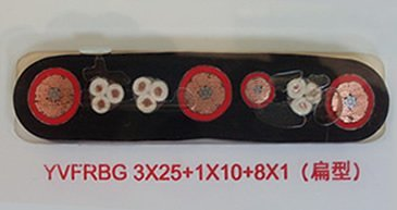 YVFBG,YVFRBG组合扁电缆